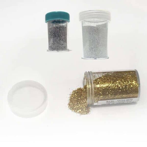 Glitter drys